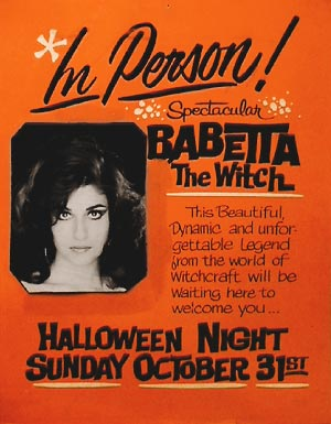 Poster of Babetta for the Hollywood Wax Museum